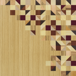 Quadri in legno | Brio | Triangles warm
