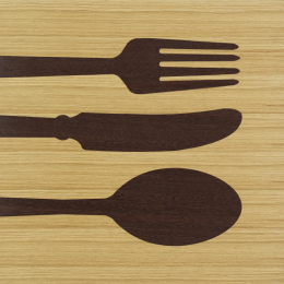 Quadri in legno | Objects | Cutlery warm
