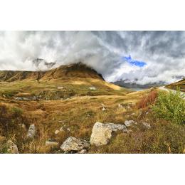 Nuvole sul Mont Cenis