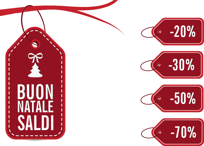 Etichette Saldi Natale