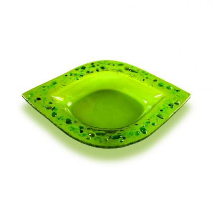 Salsiera foglia verde lapilli