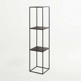Tensio Pillar 140 - scaffale in metallo nero