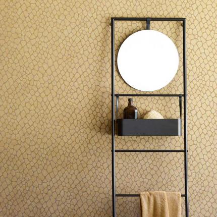 Jaxx - Scala porta asciugamani con specchio