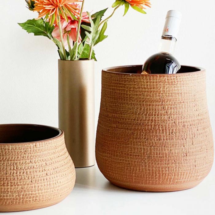 Paz medium - vaso in terracotta