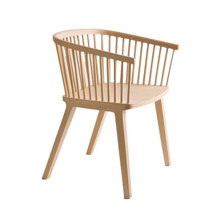 Secreto - sedia in faggio naturale