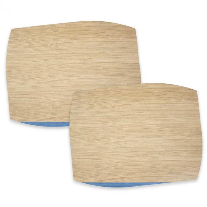 Portofino - tovaglietta in legno naturale e azzurro