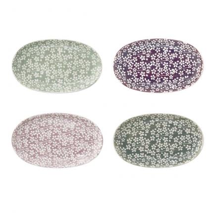 Seeke - piccoli vassoi set da 4
