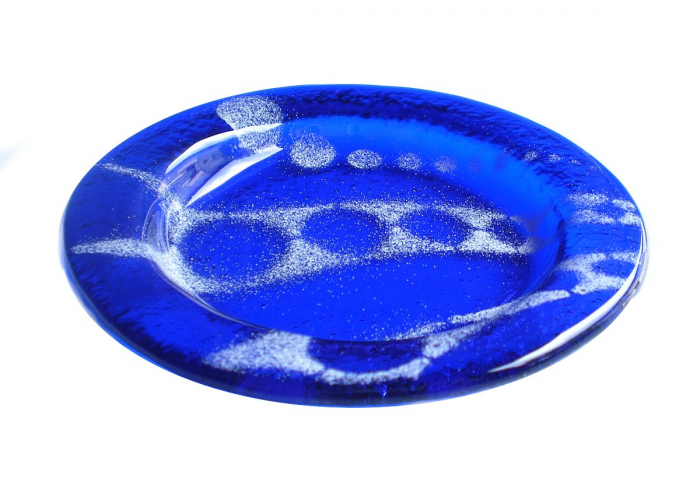 Flux - Sottobicchiere blu