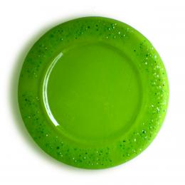 Piatto verde - serie Lapilli