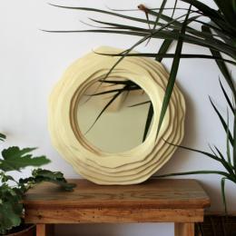 Specchi in legno | Rotondo strati