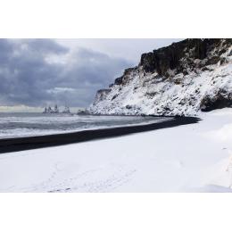 La spiaggia nera di Vik