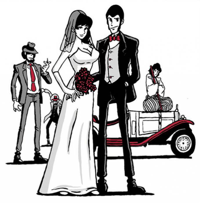 Lupin&Margot sposi