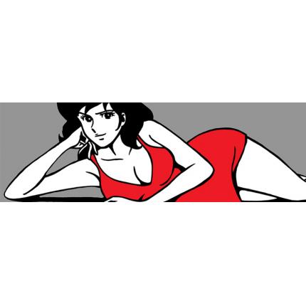 Stampa quadro su tela di Lupin - Sexy Margot