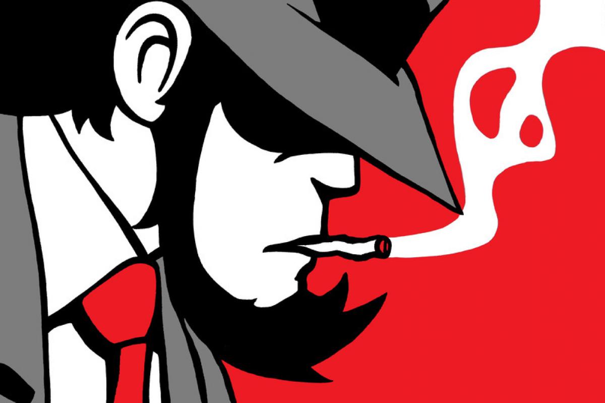 Stampa Tela Comics Jigen Lupin Livingdeco