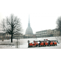 Torino ricoperta di neve