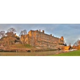 Panoramica Warwick Castle