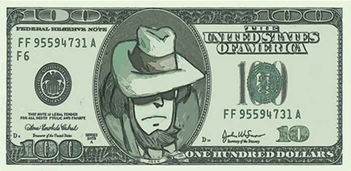 Jigen 100 dollari
