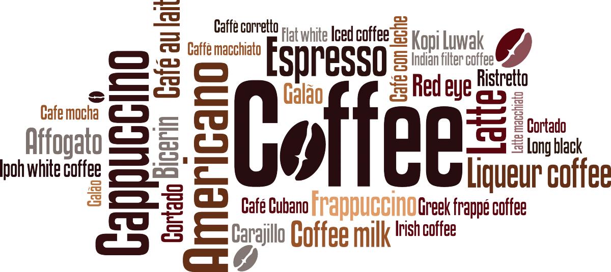 spesso Adesivo muro Scritte Caffè | LivingDECO' AV06