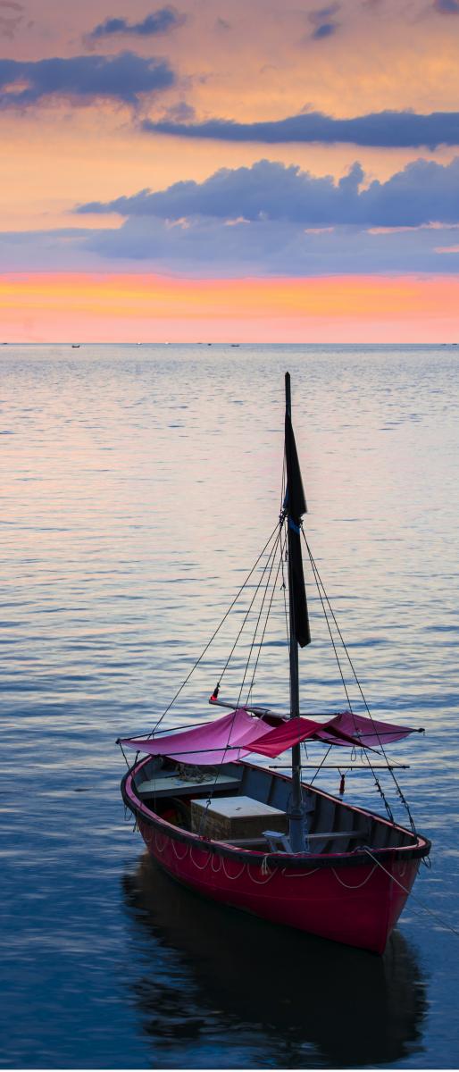 Adesivo per porte barca sul mare livingdeco 39 for Accessori barca vela