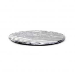 Max large - tagliere rotondo in marmo grigio