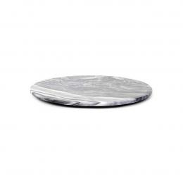 Max medium - tagliere rotondo in marmo grigio