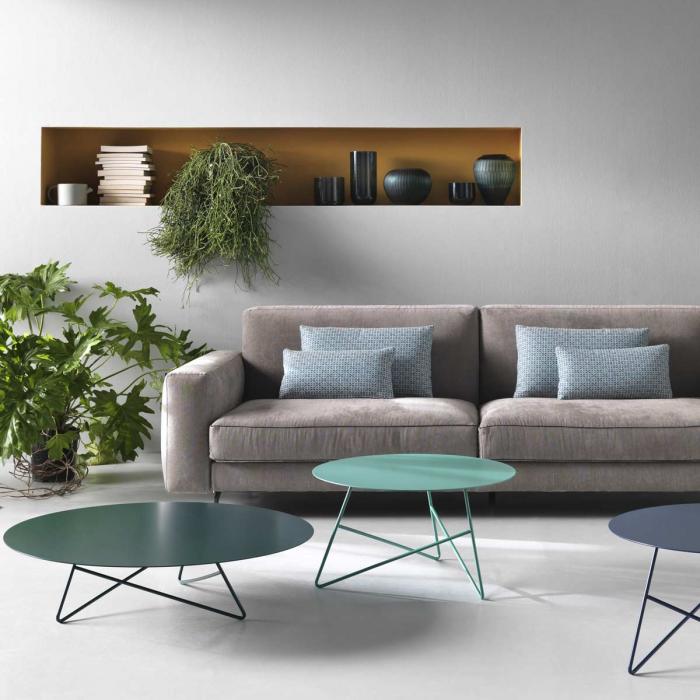Ermione - tavolino in metallo 65 cm