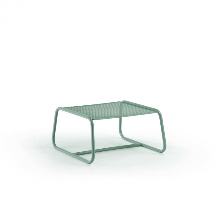 Lolita - tavolino da esterno in metallo verde