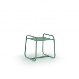Lolita - tavolino da esterno piccolo in metallo verde
