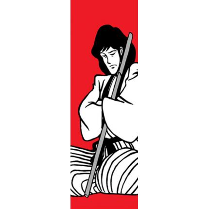 Goemon sfondo rosso