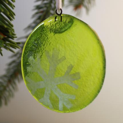 Decorazione natalizia in vetro di Murano - grande