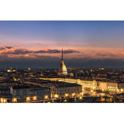 Tramonto su Torino