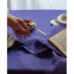 Tovaglia in lino viola