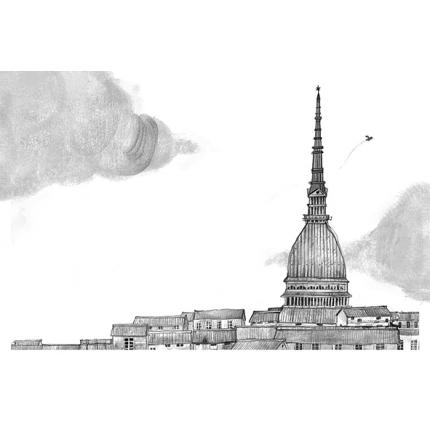 Stampa quadro su tela di Ilaria Urbinati - Turin