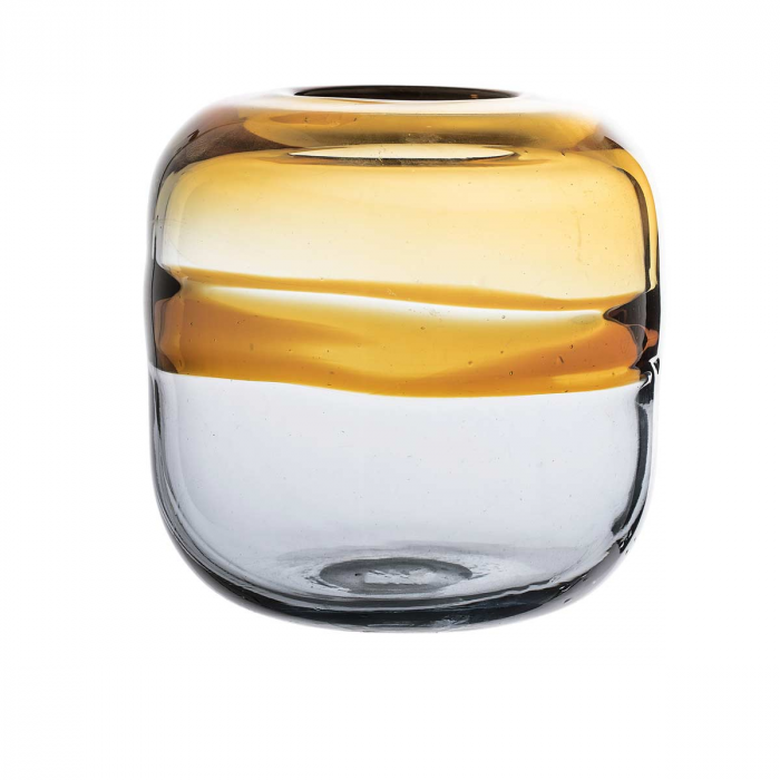 Lexcia - Vaso in vetro giallo