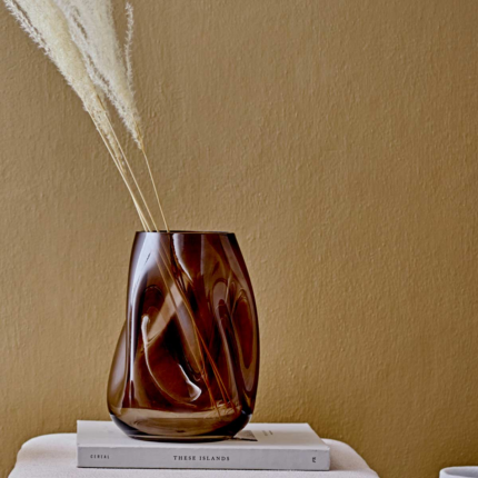 Vasi decorativi - Ivory - Vaso in vetro moka