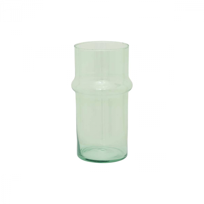 Green eyes - Vaso in vetro verde