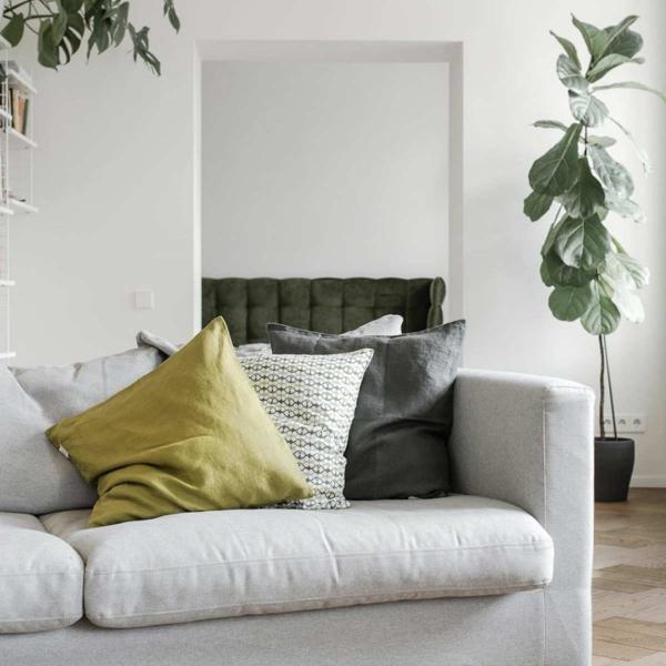 Cuscini decorativi di lino