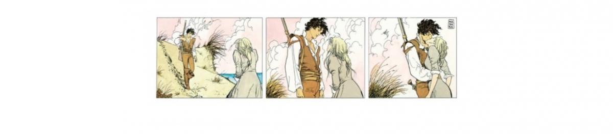 Giornata del bacio   Milo Manara